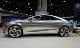 2013 Mercedes E350 Royalty-vrije Stock Fotografie