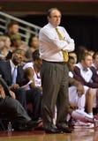 2013 NCAA Basketbal - bus op sidelines Stock Foto's