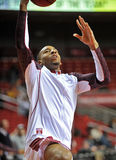2013 NCAA Basketbal - pregame layup Stock Afbeeldingen