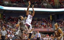 2013 NCAA Basketbal - tempel-Bonaventure Stock Afbeeldingen