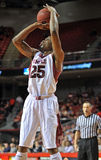 2013 NCAA Basketball - jump shot Royalty Free Stock Photos
