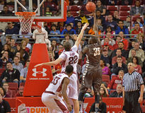 2013 NCAA Basketball - Temple-Bonaventure Royalty Free Stock Photos