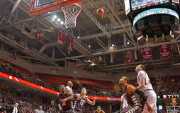 2013 NCAA Basketball - Temple-Bonaventure Royalty Free Stock Photography