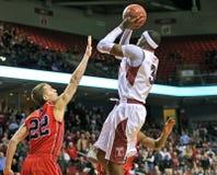 2013 NCAA het Basketbal van Mensen - schot Royalty-vrije Stock Foto's