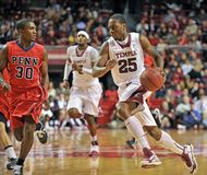 2013 NCAA Men's Basketball - dribble Royalty Free Stock Photo