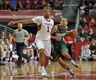 2013 NCAA Men's Basketball - dribble drive Royalty Free Stock Images