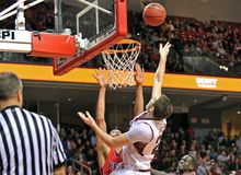 2013 NCAA Men's Basketball - shot Royalty Free Stock Photo