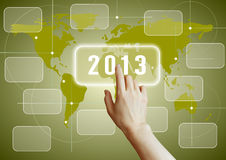 2013 network Royalty Free Stock Images
