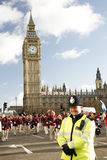 2013, neue Jahr-Tagesparade Londons Stockfotos