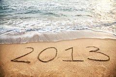 2013 neues Jahr Stockfoto