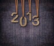 2013 neues Jahr Lizenzfreie Stockfotografie