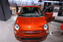 2013 New Fiat 500 Royalty Free Stock Image