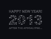 2013 new year Royalty Free Stock Images