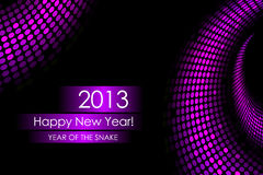 2013 new year. Snake background Stock Illustration