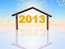 2013 new year Stock Photos