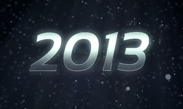 2013 The New Year. 3D rendering concept Royalty Free Stock Photos