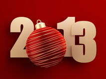 2013 new year Royalty Free Stock Photo