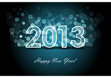 2013 - New year background Stock Image