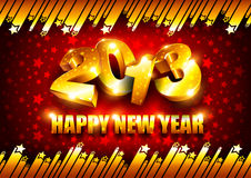 2013 New Year background Stock Image