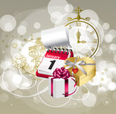 2013 - New year background Royalty Free Stock Image