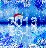 2013 - New year background Royalty Free Stock Photography