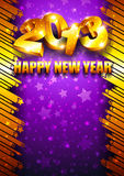 2013 New Year background with place for text Stock Photography