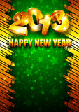 2013 New Year background with place for text Royalty Free Stock Photos