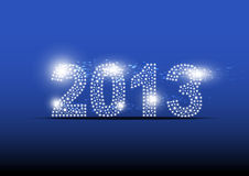 2013 new year banner design. Illustration stock illustration