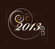 2013 new year card Royalty Free Stock Images