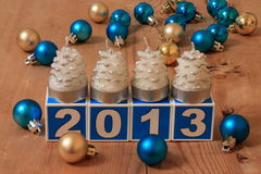 2013 New Year Card - Stock Photo Stock Photos