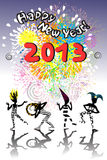 2013 new year carnival Stock Photography