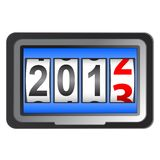 2013 New Year counter. Vector Royalty Free Stock Image