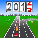 2013 New Year counter. Vector Stock Image