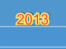 2013 new year design background Royalty Free Stock Images