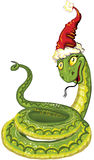 2013 new year Snake Royalty Free Stock Image
