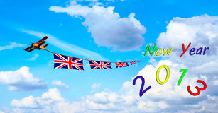 2013 New Years, England Royalty Free Stock Photo