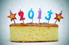 2013, nieuw jaar Stock Afbeeldingen