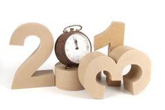2013 nos números 3D de papel Imagem de Stock Royalty Free