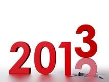 2013 nowego roku Fotografia Stock