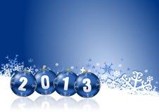 2013 nowego roku ilustracyjnego Obrazy Stock