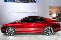 2013 nuevo Honda Accord Fotografía de archivo libre de regalías