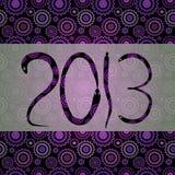 2013 nuovi anni Fotografia Stock Libera da Diritti