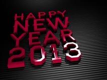 2013 nuovi anni felici Fotografia Stock Libera da Diritti