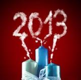 2013 - Nuovo anno felice 2013 Fotografie Stock Libere da Diritti