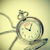 2013, o ano novo Foto de Stock