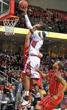 2013 o basquetebol dos homens do NCAA - tiro Fotografia de Stock