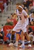 2013 pallacanestro del NCAA - posizione nella posta bassa Fotografia Stock Libera da Diritti