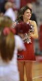 2013 pallacanestro del NCAA - ragazza pon pon Fotografie Stock Libere da Diritti