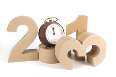 2013 in paper 3D numbers Royalty Free Stock Image
