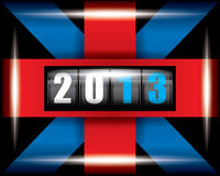2013 Ribbon. 2013 concept Royalty Free Stock Images